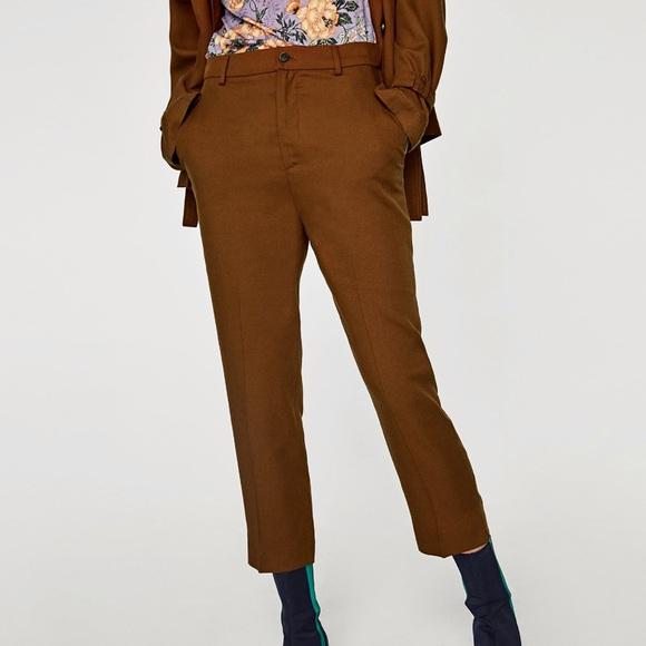 84e96a48 Zara Pants | Woman Cropped Trousers | Poshmark